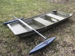 Jon or Semi Vee  Boat  Stabilizer with Hydrodynamic  Floats
