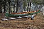 Trailex Single Canoe Trailer