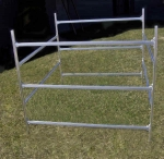 Trailex 3  Bay Box Style Rack for Sailboats, Boats,Canoes, Kayaks, SUP Boards