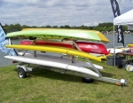 Trailex SUT-450-M-6 Trailer carries up to Six Kayaks or up to 12 SUP  Stand Up Paddle boards.Trailex SUT-450-M-6 Trailer carries up to Six Kayaks or up to 12 SUP  Stand Up Paddle boards.