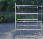 Trailex 4  Bay Box Style Rack for Sailboats, Boats,Canoes, Kayaks, SUP Boards