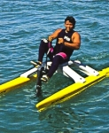 WaterBikes offer a full exercise workout when you include models with arm action. Arm action is removable. Comfortable all day cruising at top rated speeds. Made in USA.  IMPORTANT - Standard Model does not include Arm Action