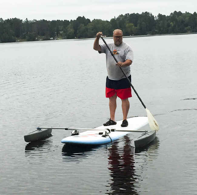 Sup Outrigger Stabilizer Floats Prevent Your Paddle Board