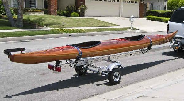 Trailex Sut 350 S Trailer For Long Canoes Or Kayaks Such