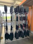 Paddle Storage  Rack with Casters