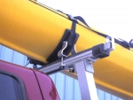 Universal Kayak Saddle Set consists of 4 Saddle brackets to fit one kayak.  Use on NSC-2, TT-2 Racks and many other roof, truck and trailer racks. Made in the USA.