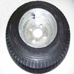 "SPGAL  is a Spare Tire that fits Trailex Trailers.  It has a galvanized rim that is 4.80 x 8.00. The Tire is 16"" High."