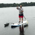 SUP Stabilizer  - with Hydrodynamic  Floats