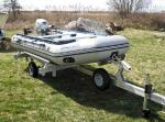 Trailex Trailer for Zodiac Style Inflatable Boats