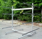 Trailex 8 Bay Double Sided Rack for Canoes, Kayaks, SUP Boards